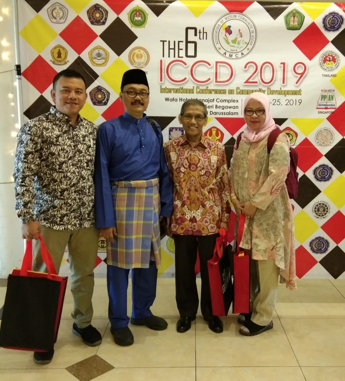 The 6th ICCD 2019