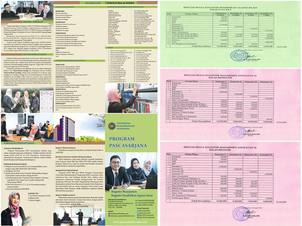 Penerimaan Mahasiswa Baru Prodi MM & MPAI