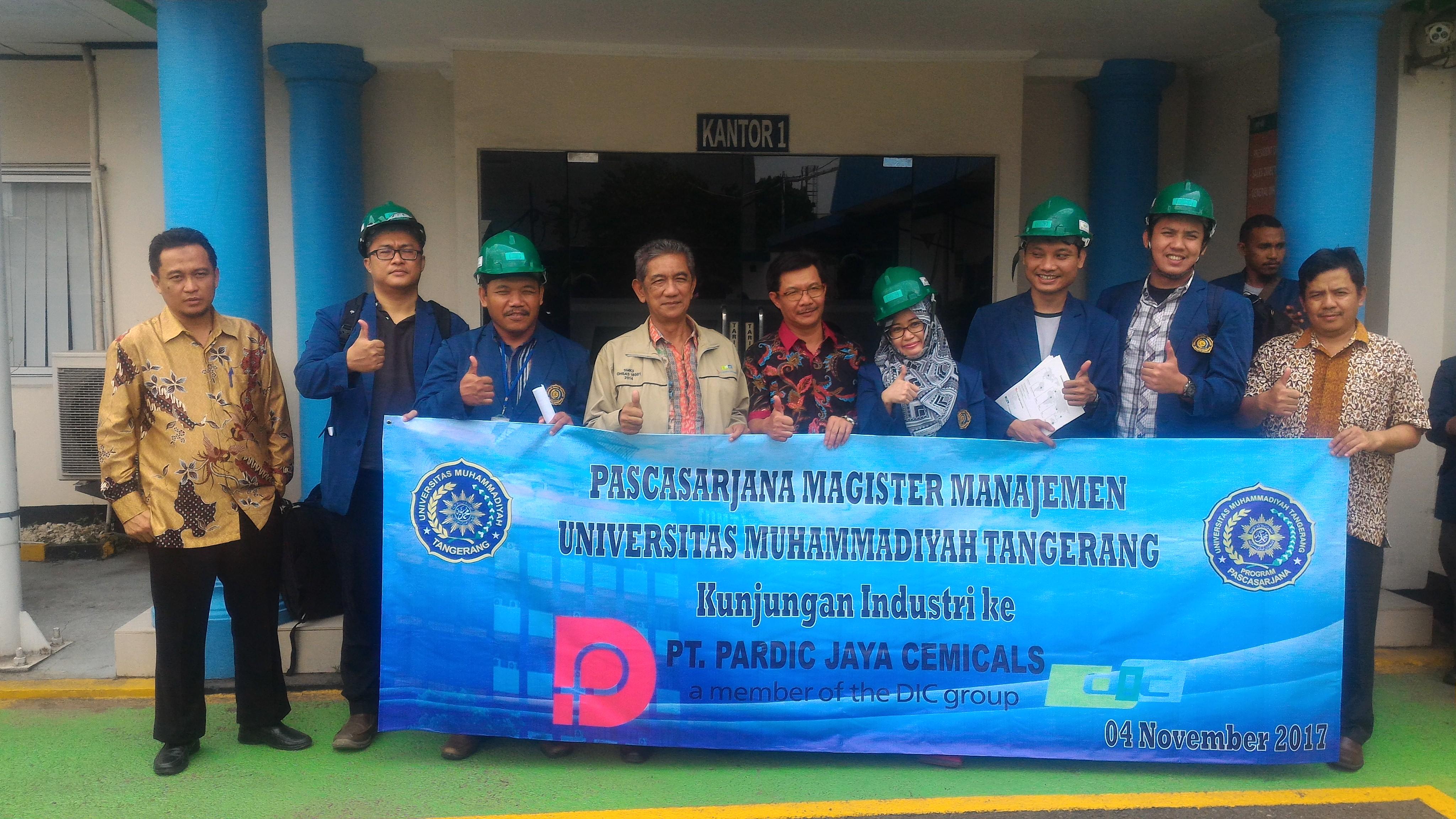 Kunjungan Industri Prodi MM ke PT. Pardic Jaya Chemical